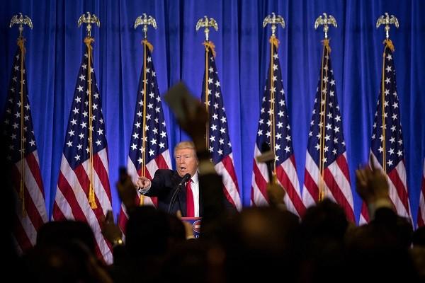 Cuộc họp báo đầu tiên của ông Donald Trump kể từ khi đắc cử