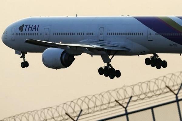 Một chiếc máy bay của Thai Airways