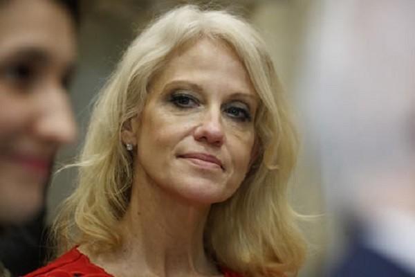 Bà Kellyanne Conway, cố vấn cao cấp của Tổng thống Donald Trump