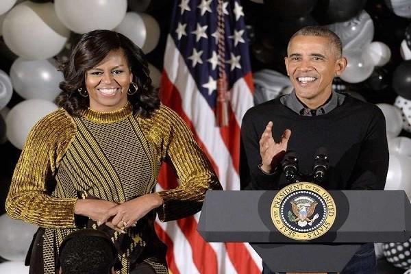 Vợ chồng cựu Tổng thống Obama