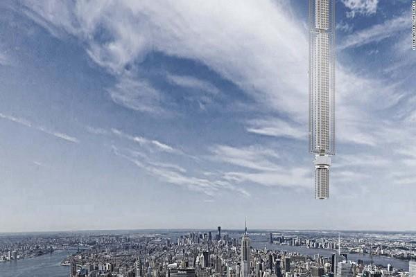 Tòa tháp sẽ được treo trên một tiểu hành tinh quay quanh Trái đất