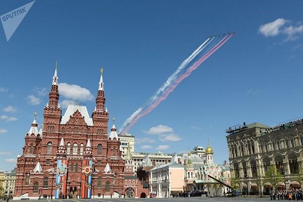 Màn trình diễn của lực lượng Không quân Nga bị hủy do thời tiết xấu. Ảnh minh họa