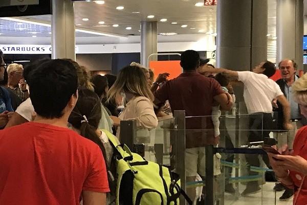 Vụ việc xảy ra tại sân bay Nice, Pháp