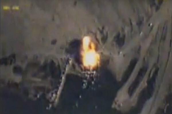 Mục tiêu IS tại Syria bị nổ tung