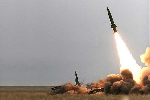 Tên lửa của Syria được phóng đi