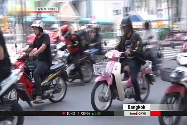 Mẫu xe này cũng được ưa chuộng ở Đông Nam Á