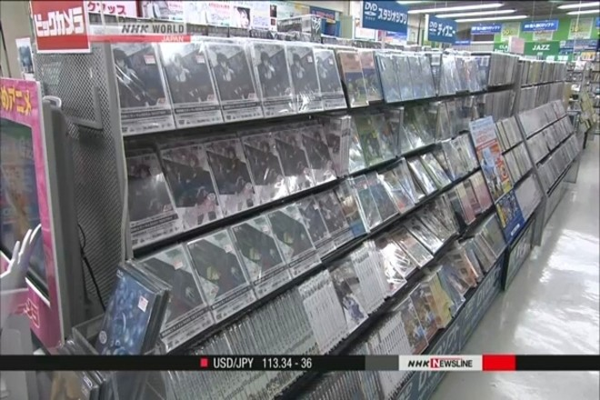 Đứng đầu danh sách là doanh thu từ bán DVD