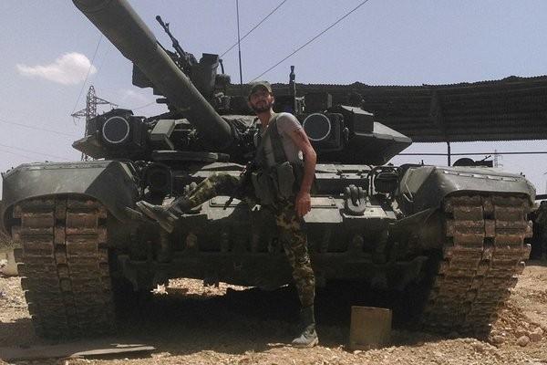 Binh sĩ lực lượng Tiger, một đơn vị đặc nhiệm thuộc quân đội Syria