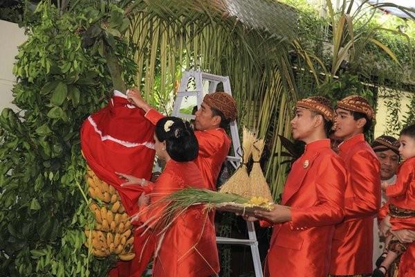 Lễ cưới của con gái Tổng thống Widodo diễn ra sáng 8-11