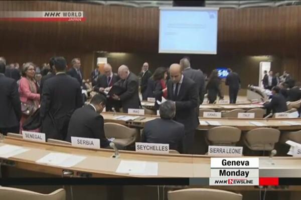 Hội nghị khai mạc hôm 13-11 tại Geneve, Thụy Sĩ
