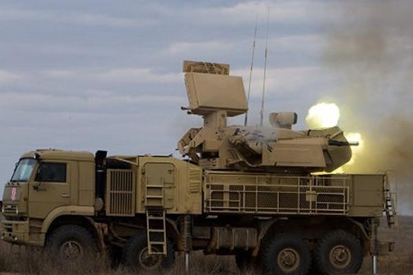 Hệ thống phòng không Pantsir của Nga tham chiến tại Syria