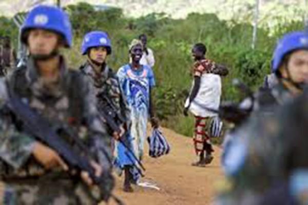 Binh sĩ gìn giữ hòa bình Trung Quốc ở Nam Sudan
