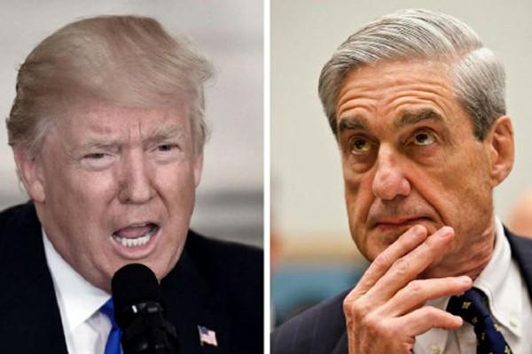Tổng thống Donald Trump và Công tố viên đặc biệt của Mỹ, ông Robert Mueller