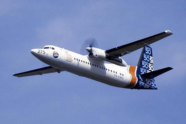 Máy bay tuần tra biển Fokker-50 đã được điều tới hiện trường. Ảnh minh họa