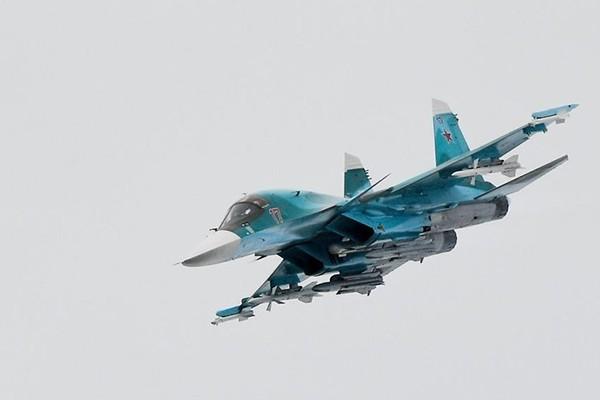 Máy bay ném bom Su-34 của Nga