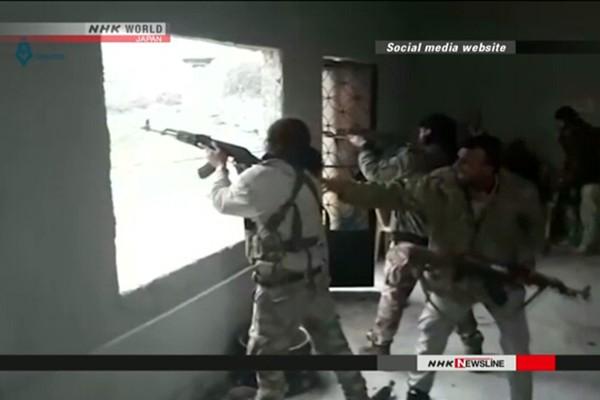 Binh sĩ Thổ Nhĩ Kỳ giao tranh với lực lượng người Kurd