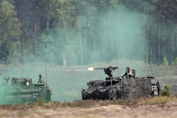 Cuộc tập trận quân sự Saber Strike của NATO
