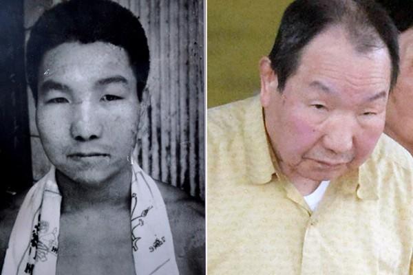 Ông Iwao Hakamada lúc trẻ và hiện nay