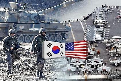 Một cuộc tập trận của quân đội Mỹ và Hàn Quốc