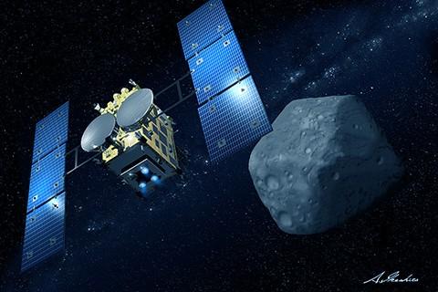 Tàu sẽ quan sát tiểu hành tinh từ độ cao 20.000m cho đến khoảng tháng 8