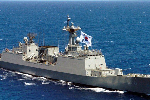 Tàu khu trục Munmu the Great của Hàn Quốc