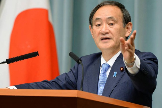 Chánh Văn phòng Nội các Nhật Bản Yoshihide Suga