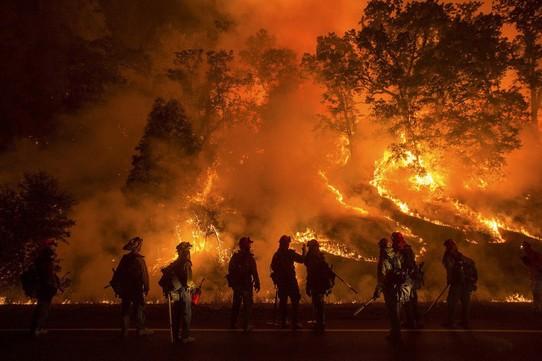 Cháy rừng khủng khiếp ở bang California, Mỹ