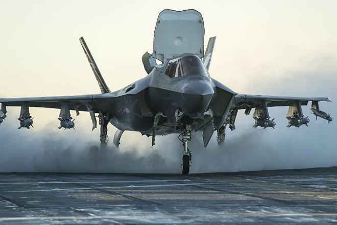 Máy bay chiến đấu tàng hình F-35
