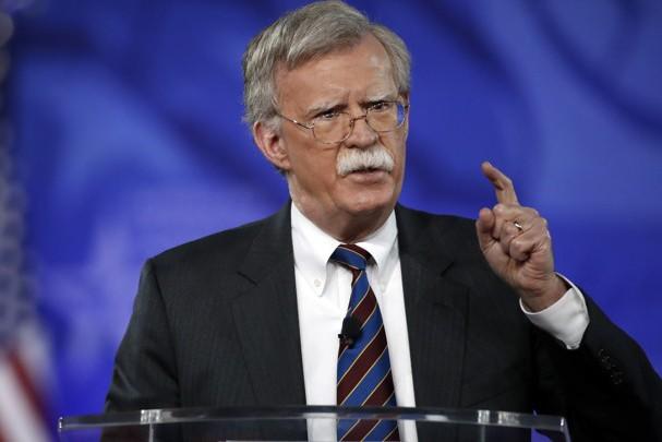 Ông John Bolton, Cố vấn An ninh quốc gia Mỹ