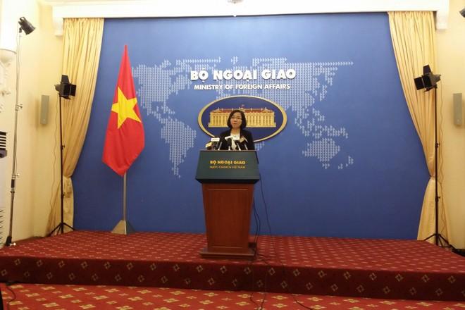 Phó phát ngôn Bộ Ngoại giao Việt Nam, bà Nguyễn Phương Trà