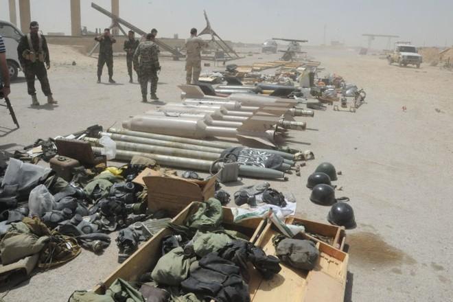 Những vũ khí của phiến quân bị quân đội Syria phát hiện