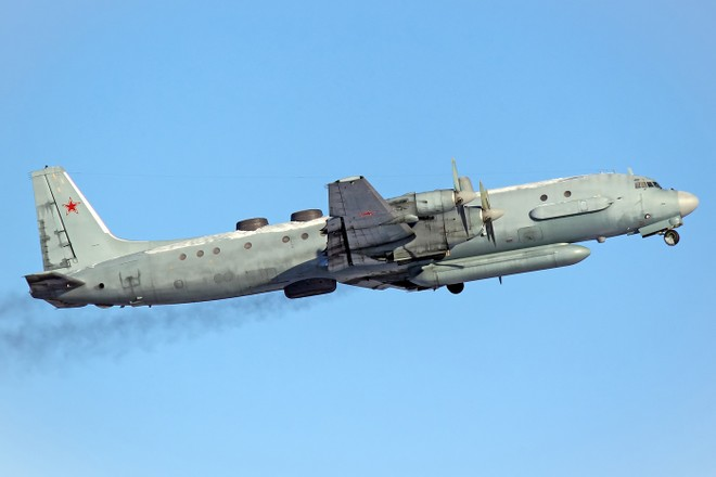 Một chiếc máy bay trinh sát Il-20 của Nga