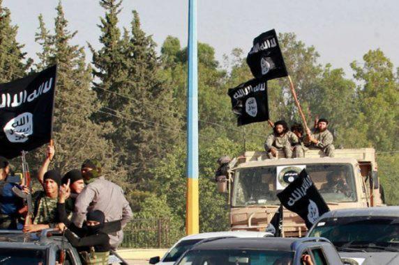 Các tay súng tổ chức khủng bố Nhà nước Hồi giáo (IS) tự xưng
