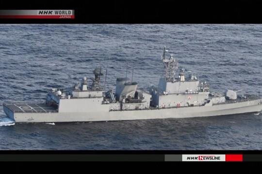 Tàu hải quân Hàn Quốc bị cáo buộc dùng radar khóa mục tiêu máy bay Nhật Bản