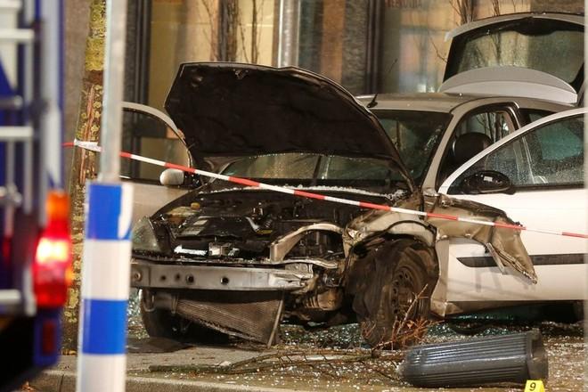 Hiện trường vụ đâm xe ở Recklinghausen, Đức