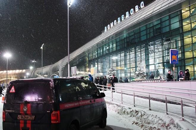 Vụ việc xảy ra gần sân bay Domodedovo