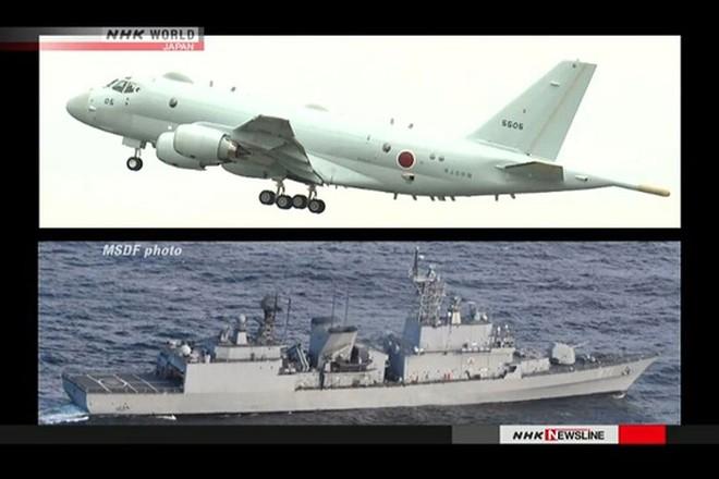 Hàn Quốc bác bỏ cáo buộc tàu khu trục nước này chiếu radar vào máy bay Nhật
