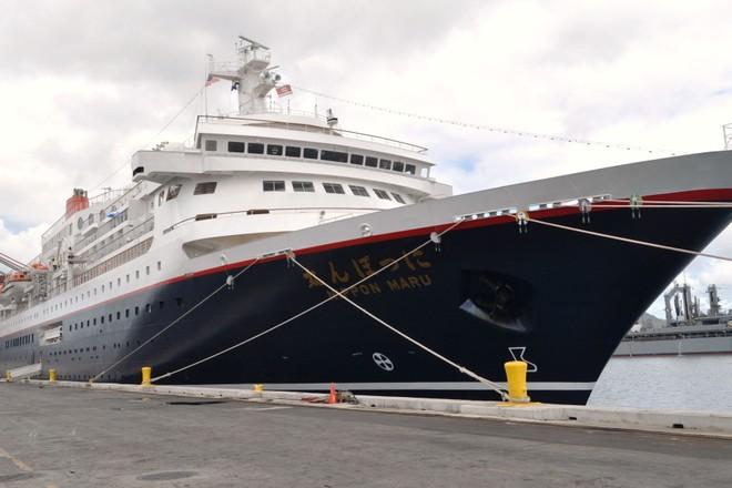 Tàu Nippon Maru do công ty Mitsui O.S.K Passenger Line vận hành