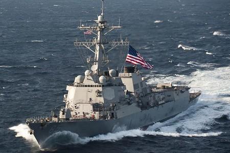 Tàu khu trục USS McCampbell của Hải quân Mỹ
