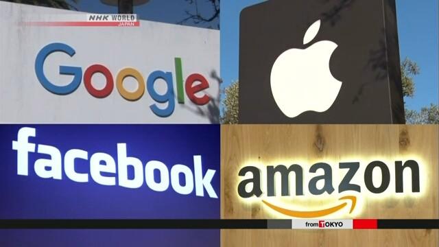 Google, Apple, Facebook và Amazon sẽ là đối tượng bị điều tra