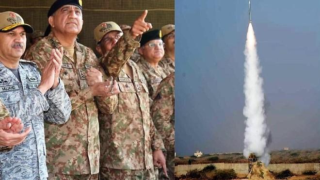 Quân đội Pakistan bắn thử tên lửa đất đối không LY-80 (HQ-16)