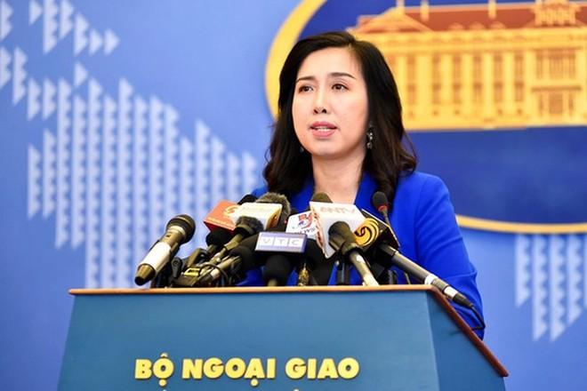 Người Phát ngôn Bộ Ngoại giao Việt Nam Lê Thị Thu Hằng