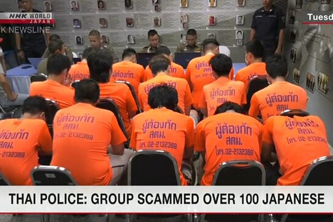 Nhóm đối tượng này đã lừa đảo hơn 100 người ở Nhật