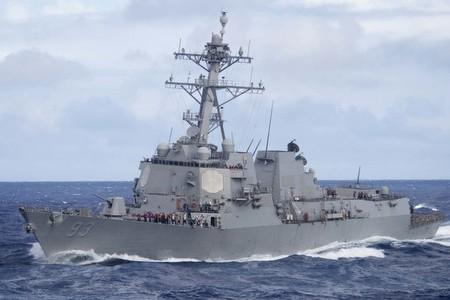 Tàu khu trục USS Chung Hoon của Mỹ