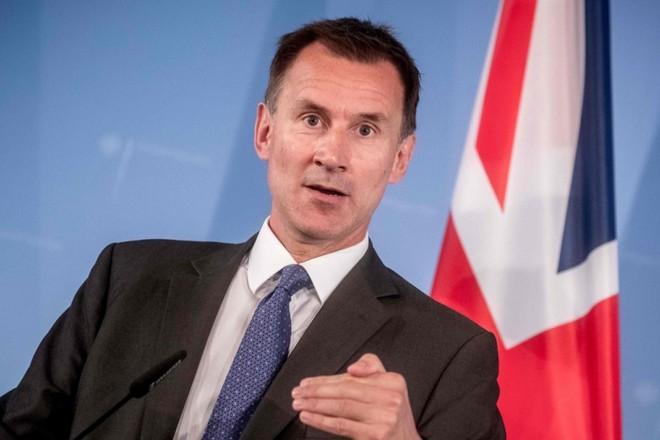 Ngoại trưởng Anh Jeremy Hunt