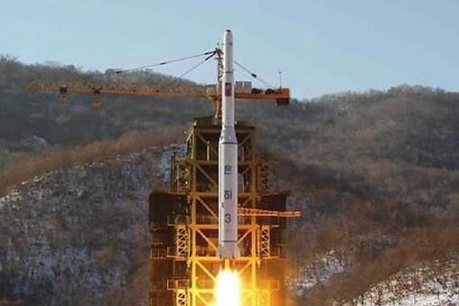 Một tên lửa của Triều Tiên được phóng đi. Ảnh minh họa