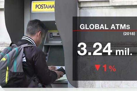Các nhà nghiên cứu cho rằng xu hướng suy giảm máy ATM sẽ tiếp tục diễn ra