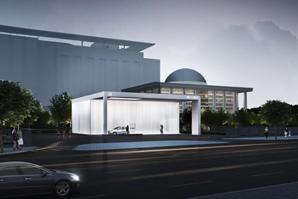 Lần đầu tiên xây dựng trạm sạc hydro bên trong trụ sở Quốc hội