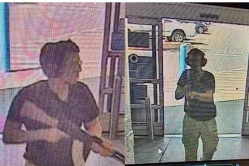 Hình ảnh được cho là nghi phạm vụ xả súng