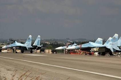 Sân bay Hmeimim của Nga ở Syria